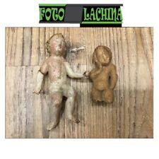 Scultura in legno e scultura in pietra molto antica