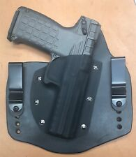 Leather Kydex hybrid IWB holster for Kel-Tec PMR-30