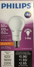 Philips 465153 50/100/150W LED 3WY BULB (6-PACK)