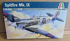 ITALERI SPITFIRE MK.IX 1:72 SCALE PLASTIC MODEL KIT WW2 BRITISH FIGHTER AIRCRAFT