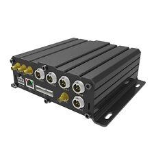 4CH Realtime  720P AHD Car Mobile Digital DVR SD  GPS Remote Controller