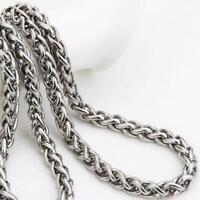 50 cm 2018 Klassisch Edelstahl Kette Halskette für Männer lang_ D7C2 A3J0