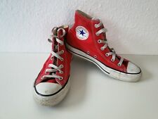 Converse All Star Chucks Sneaker Scarpe Da Ginnastica High Taylor in tessuto marrone tg. 6/39
