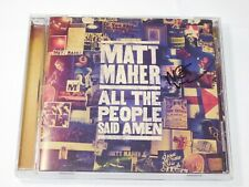 All the People Said Amen by Matt Maher CD 2013 Sony Music Christ is Risen