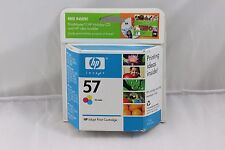 NEW GENUINE HP 57 Tri-color Original Printer Ink Cartridge C6657AN 02/2007