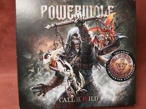 Powerwolf call of the wild 2 CD'S mit Anhänger
