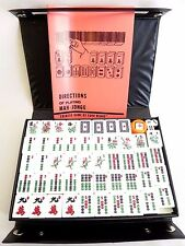 Vintage Mahjong Set Chinese Game of Four Minds 148 tiles w/ Black Case c.1980s