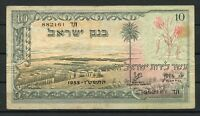 ISRAEL 10 LIROT 1955  NOTE  I AS SHOWN YOU DO THE GRADING