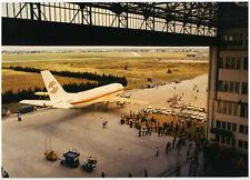 Airbus A300 F-WUAB - 1ère sortie Toulouse-Blagnac -  Photo Vintage Couleurs 1972