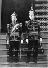 """Photo 1903 Seoul South Korea """"King Kojong & Son"""""""