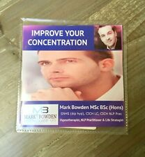 Improve Your Concentration Hypnotherapy CD Mark Bowden