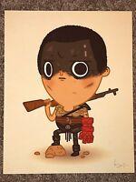 Mike Mitchell Furiosa Fury Road Hand Of Doom Print Poster Mondo Just Like Us JLU