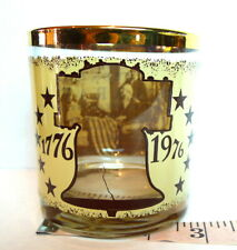 Betsy Ross American Flag Highball Glass  Declaration of Independence 1776 1976