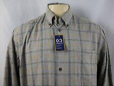 NEW Cambridge Classics Plaids Men's Long Sleeve Casual Shirt Size XXL