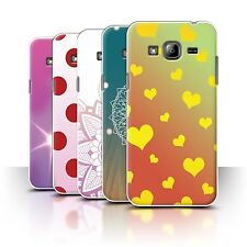 Rigid Plastic Fitted Cases/Skins for Samsung Galaxy J3