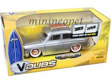 JADA V DUBS 91216 1965 65 VW VOLKSWAGEN 1600 TL FASTBACK 1/24 ORG WHEELS SILVER