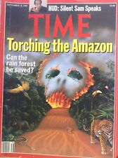 Time Magazine  Torching The Amazon September 18, 1989 100717nonrh