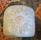 Isabel Bloom large sunflower planter w Isabel's large signature /no date/retired