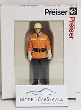 Preiser 1/24: 57550 Firefighter, Federal Republic Germany, Um 1985