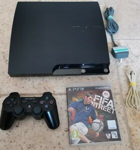 PS3 CECH-2003B 250gb console bundle + Fifa Street Game VGC FAST FREE POST