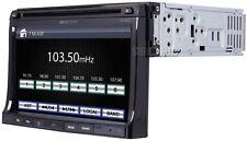 "SOUNDSTREAM VR-730B 1 DIN INDASH CAR BLUETOOTH DVD/CD/MP3/USB PLAYER 7"" MONITOR"