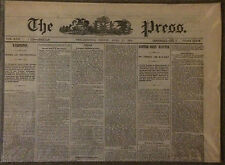 1876 Centennial Exposition and Congress/1874 Philadelphia Newspaper