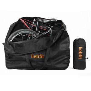 LIEBFIT Transporttasche Fahrradtasche für Klapprad Faltrad 14-20 Inch Fahrrad