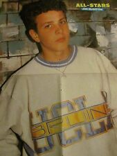 Joey Joe McIntyre, New Kids on the Block, Tommy Page, Four Page Foldout Poster