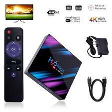 H96 Max Android 9.0 Smart TV Box 64 Bit Quad Core 4K Ultra HD WiFi Media Player