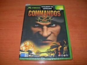 COMMANDOS 2 MEN OF COURAGE XBOX (PAL ESPAÑA PRECINTADO)