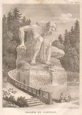 Firenze, Pratolino, 1819, acquaforte