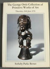 Sothebys Rare George Ortiz Col. Primitive Works of Art 1978 African Art