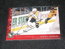 ALEXEI KOVALEV NHL LEGEND LIMITED EDITION VINTAGE HOCKEY INSERT CARD #172/200