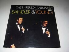 "SEALED Sandler & Young THE ""IN PERSON"" ALBUM Capitol STEREO"