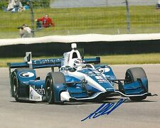 Max Chilton signed 8x10 photo Irl Indy with Coa
