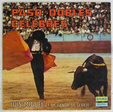 Tauromachie 33 tours Luis Miguel et sa Banda de Séville