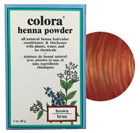 Colora Henna Powder All Natural Hair Color 60g Brown