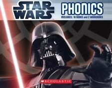 Star Wars: Phonics Boxed Set Paperback Book Learning Reading English *BRAND NEW*