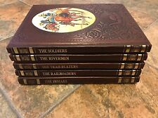 Lot 5 Time Life The Old West Series Soldiers Indians Rivermen Railroaders