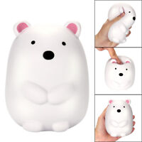 Jumbo Squishy Cute Polar Bear Scented Squeeze Slow Rising Stress Reliever Toy