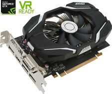 MSI NVIDIA GeForce GTX 1060 OC, 3GB Graphic Card, GDDR5, DVI,HDMI,Single Fan, EU