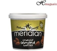 Meridian Crunchy Almond Butter 1kg **Vegan, 100% Nuts, No Palm Oil***
