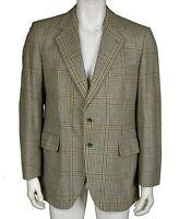 Dunn & Co Pure New Wool Tweed Blazer Jacket Men's Size 46R