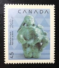Canada #1295 MNH, Christmas Native Nativity Stamp 1990