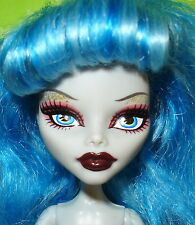 MONSTER HIGH DAWN OF THE DANCE NUDE GHOULIA YELPS DOLL HEAD BODY ARMS ONLY