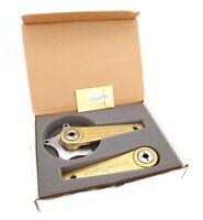 PowerCranks 007 Goldfinger Edition Training Crankset 172.5 mm 130 BCD