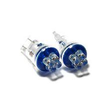 FITS Honda Jazz mk1 Blu 4-led XENON Bright Side FASCIO DI LUCE LAMPADINE COPPIA aggiornamento