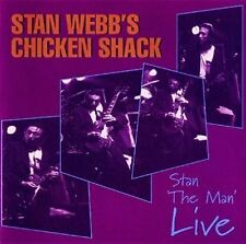 Stans Webb Chicken Shack - Stan The Man Live CD Talking El NEU