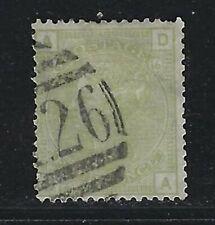 1877 Great Britain Scott #70 (SG #153) - 4d Queen Victoria Stamp - Pl 16 - Used