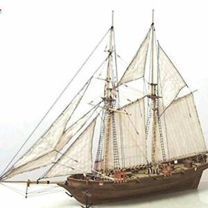 Holzschiff Modelle DIY Schiffsmodell Kit Schiffbausatz Segelschiff Modellbaus...